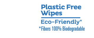 Cottonelle Flushable Wipes are plastic free and eco-friendly.