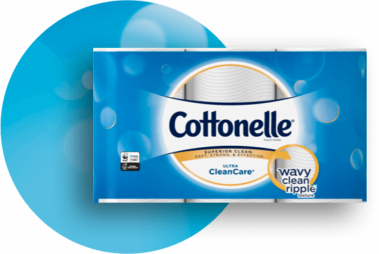 Cottonelle® CleanCare Toilet Paper