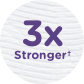 Cottonelle® ComfortCare is 3x Stronger Thumb Image.