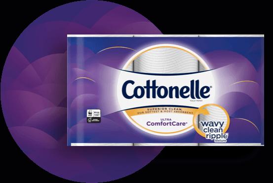 Cottonelle 174 Ultra Comfortcare 174 Toilet Paper