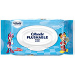 Cottonelle® Disney Flushable Wipes Flip Top Image.