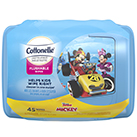 Cottonelle® Disney Flushable Wipes Tub Image.