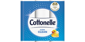 Cottonelle® Ultra CleanCare® Toilet Paper 12 pack.
