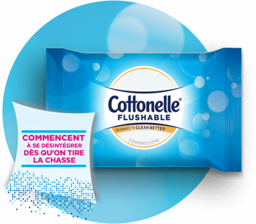 Cottonelle® Flushable Wipes - French