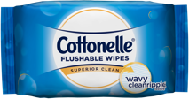 Cottonelle® FreshCare Flushable Wipes